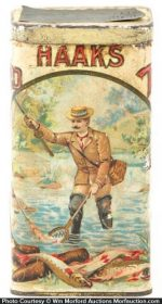 Haaks Speckled Trout Cigar Tin