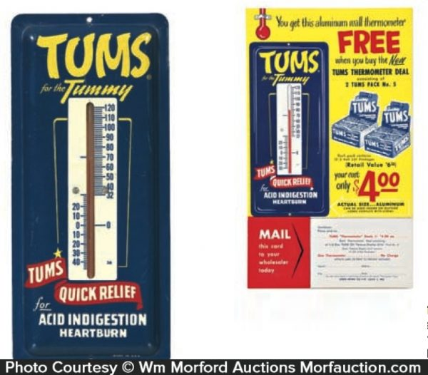 Tums Thermometer Lot