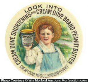 Cream Dove Peanut Butter Mirror