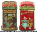 Droste Cocoa Sample Tins
