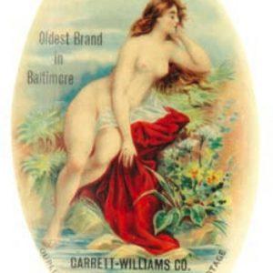 Garrett's Baker Rye Whiskey Mirror