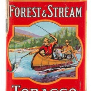 Forest & Stream Pocket Tobacco Tin