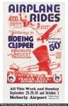 Inman Brothers Flying Circus Poster