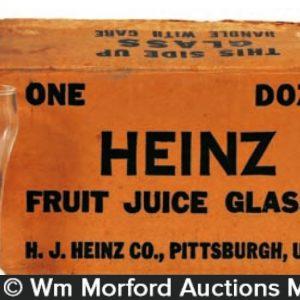 Heinz Fruit Juice Glasses
