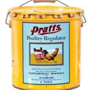 Pratt's Poultry Regulator Pail