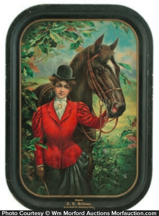 Good Friends Horse Tray