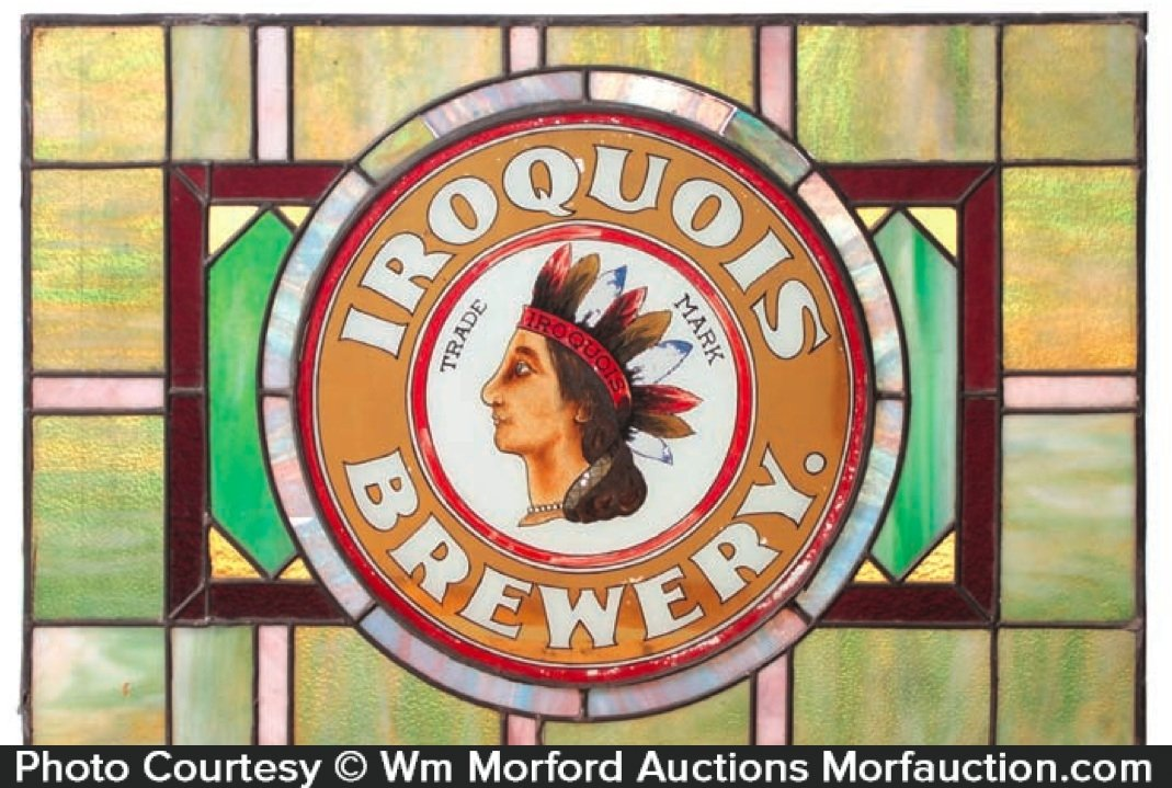 Iroquois Brewery Window