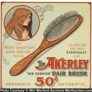 Akerley Hair Brushes Sign