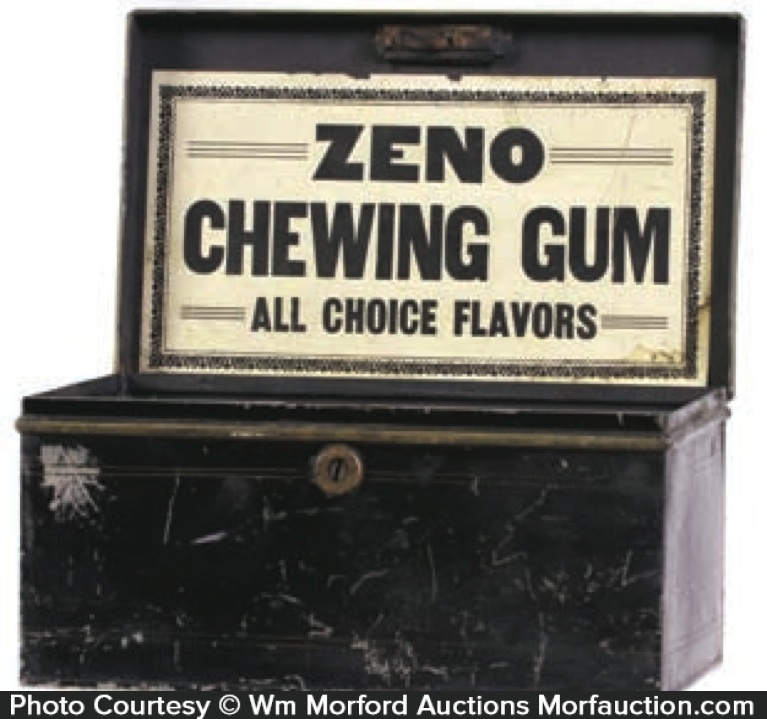 Zeno Chewing Gum Cash Box