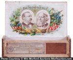 Political Grover Cleveland Cigar Box
