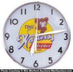 Walters Pilsner Beer Clock