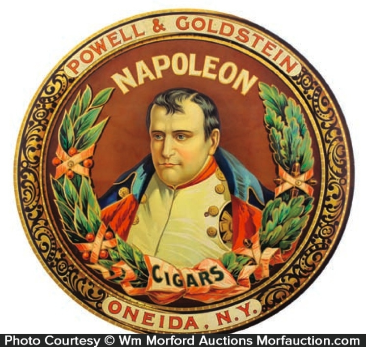 Napoleon Cigars Sign