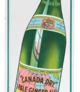 Canada Dry Door Push Sign