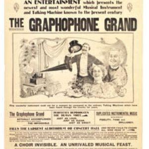 Gramophone Grand Phones Poster