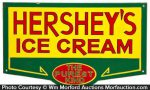 Hershey's Ice Cream Sign