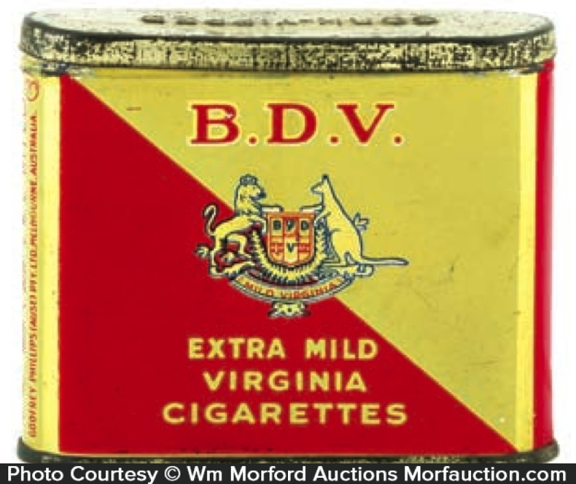 Bdv Tobacco Tin