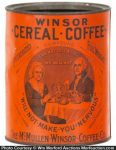 Winsor Cereal Coffee Tin