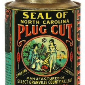 Seal Of North Carolina Tobacco Tin