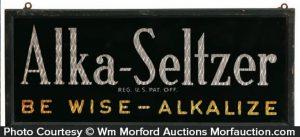 Alka Seltzer Sign