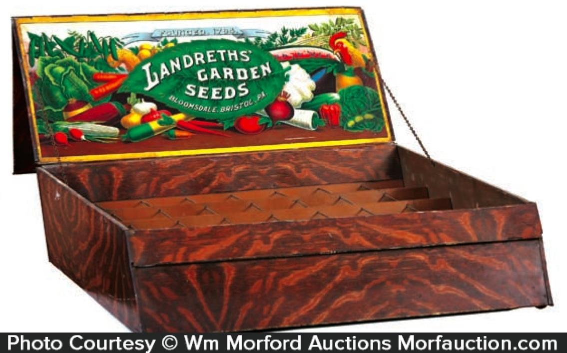 Landreths Garden Seeds Box