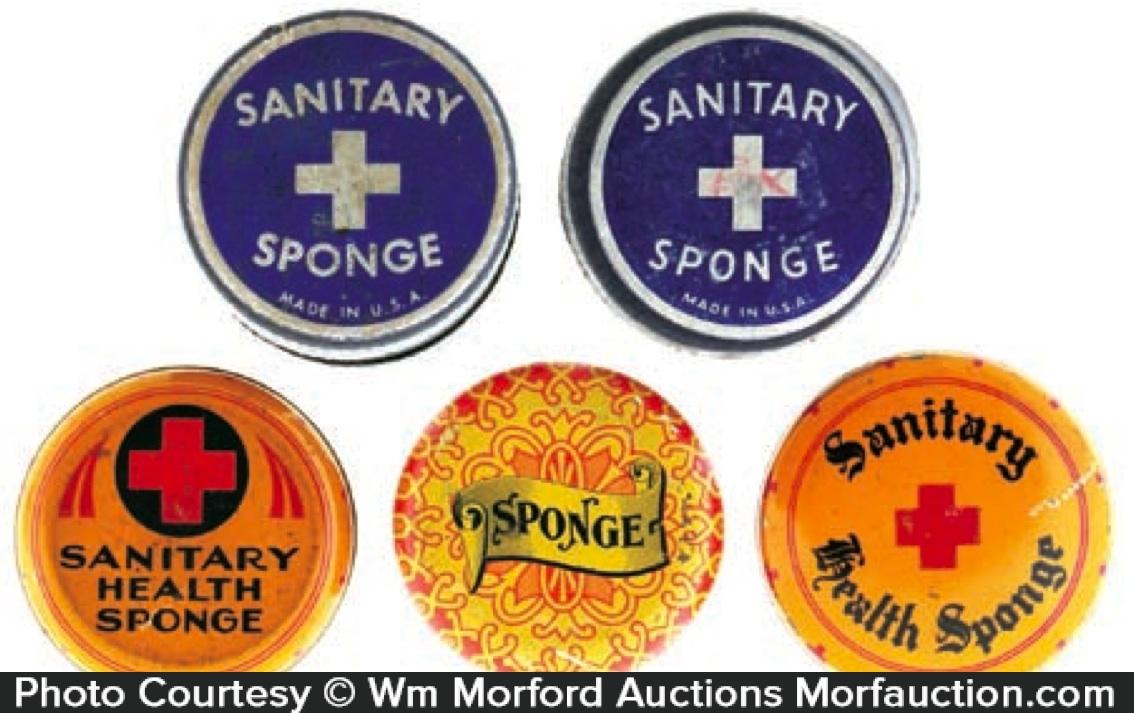 Sanitary Sponge Tins