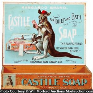 Castille Kangaroo Soap Box