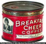 Breakfast Cheer Coffee Sample Tin