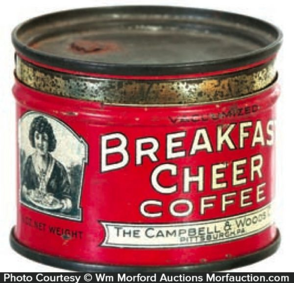 Breakfast Cheer Coffee Sample Tin