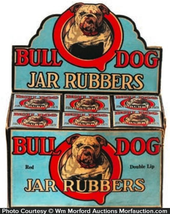 Bull Dog Jar Rubbers Box
