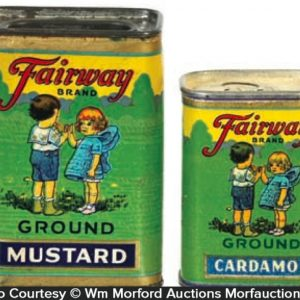 Fairway Spice Tins