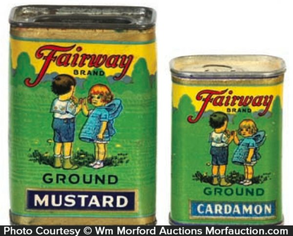 Fairway Spice Tins