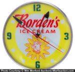Borden's Ice Cream Clock