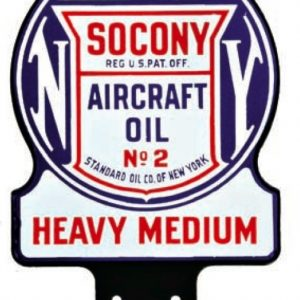 Socony Aircraft Oil Sign