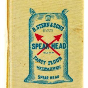 Spear Head Flour Match Safe