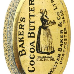Baker's Cocoa Butter Tin