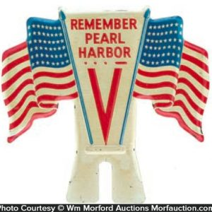 Pearl Harbor Plate Topper