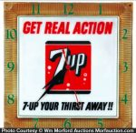 7Up Real Action Clock