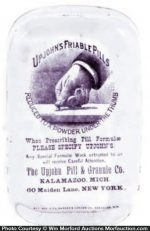Upjohn's Friable Pills Paperweight