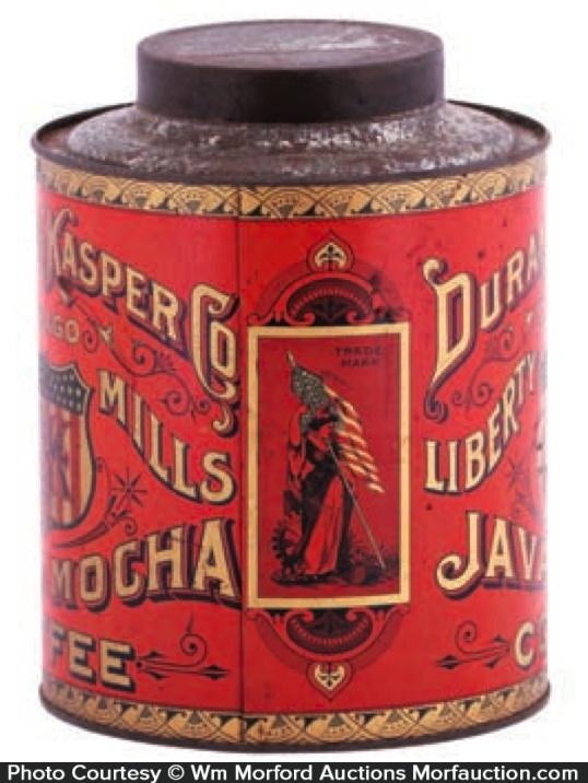 Durand & Kasper Coffee Tin