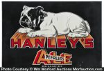 Hanley's Ale Sign