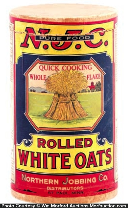 Northern Jobbing Co. Oats Box