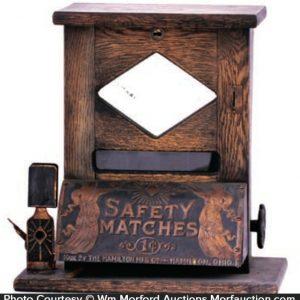 Hamilton Match Vending Machine