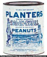 Planters Sal-In-Shell Peanut Tin