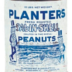 Planters Sal-In-Shell Peanut Tin