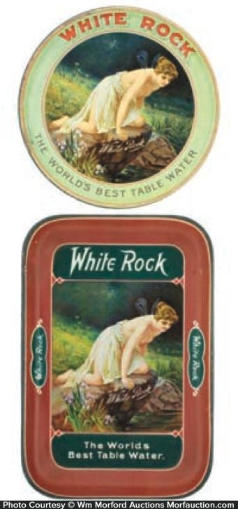 White Rock Trays