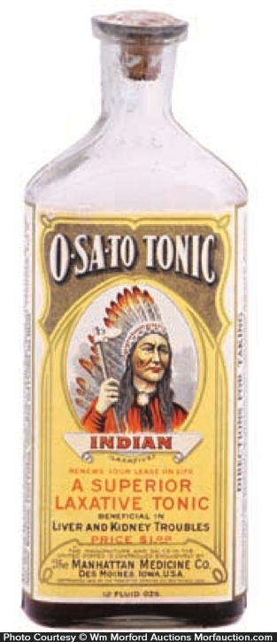 Osato Tonic Bottle