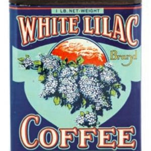 White Lilac Coffee Tin