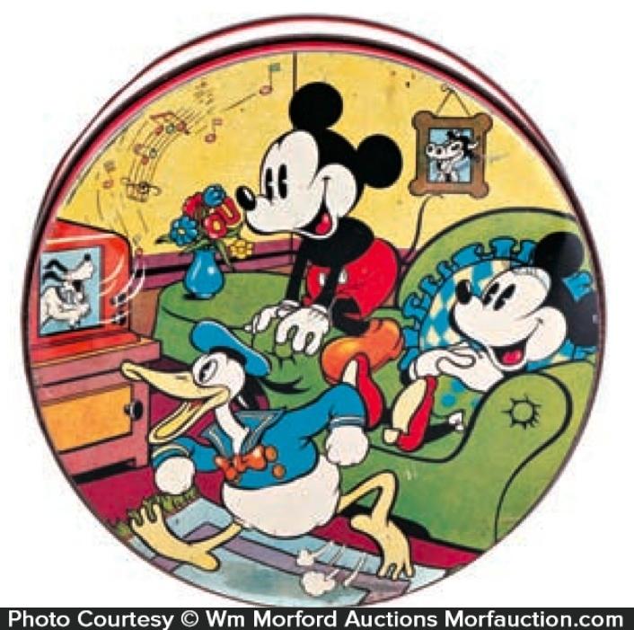 Vintage Disney Cookie Tin