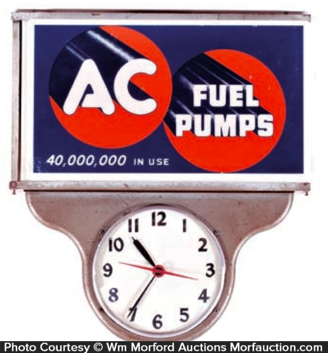Ac Fuel Pumps Clock