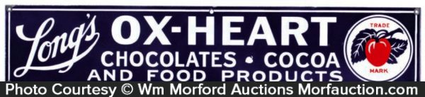 Ox-Heart Chocolates Sign